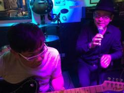 小倉ライブハウスマリア フォトギャラリー 日々のフォトギャラリー ベテランの演奏♪