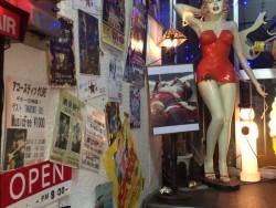 小倉ライブハウスマリア フォトギャラリー マリア店内写真 マリアの玄関外
