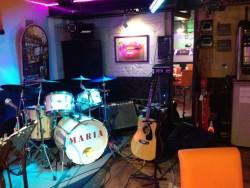 小倉ライブハウスマリア フォトギャラリー マリア店内写真 マリアのライブステージ!