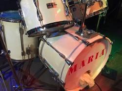 小倉ライブハウスマリア フォトギャラリー マリア店内写真 ドラムセット♪